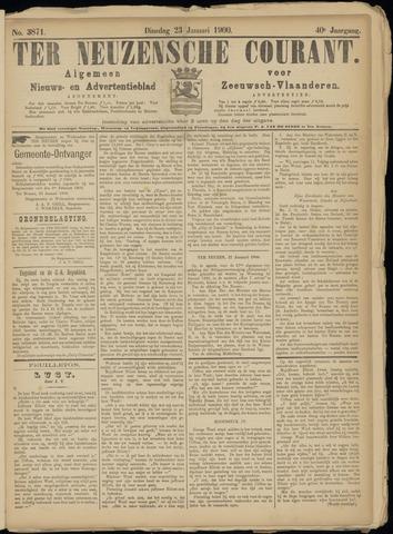 Ter Neuzensche Courant. Algemeen Nieuws- en Advertentieblad voor Zeeuwsch-Vlaanderen / Neuzensche Courant ... (idem) / (Algemeen) nieuws en advertentieblad voor Zeeuwsch-Vlaanderen 1900-01-23