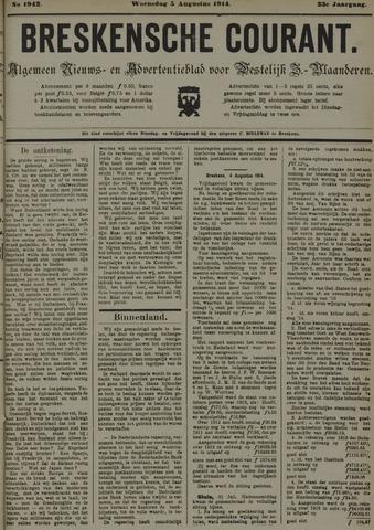 Breskensche Courant 1914-08-05