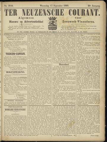 Ter Neuzensche Courant. Algemeen Nieuws- en Advertentieblad voor Zeeuwsch-Vlaanderen / Neuzensche Courant ... (idem) / (Algemeen) nieuws en advertentieblad voor Zeeuwsch-Vlaanderen 1890-09-17