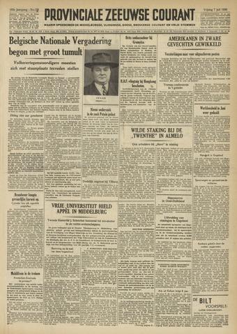 Provinciale Zeeuwse Courant 1950-07-07