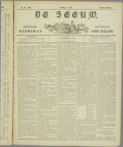 De Zeeuw. Christelijk-historisch nieuwsblad voor Zeeland 1895-07-06