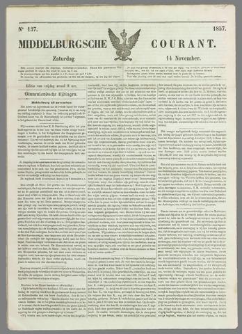 Middelburgsche Courant 1857-11-14