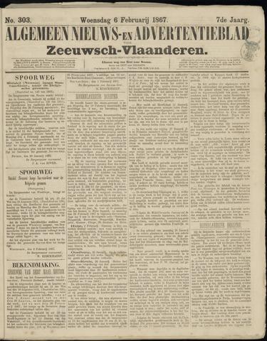 Ter Neuzensche Courant. Algemeen Nieuws- en Advertentieblad voor Zeeuwsch-Vlaanderen / Neuzensche Courant ... (idem) / (Algemeen) nieuws en advertentieblad voor Zeeuwsch-Vlaanderen 1867-02-06