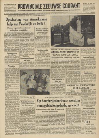 Provinciale Zeeuwse Courant 1954-06-18