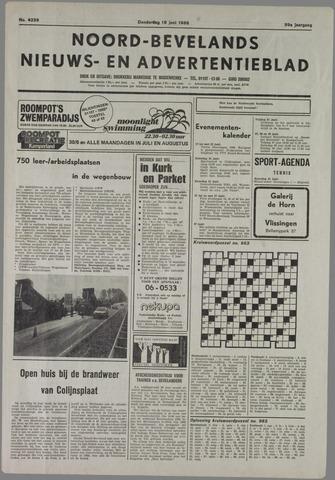 Noord-Bevelands Nieuws- en advertentieblad 1986-06-19