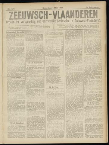 Luctor et Emergo. Antirevolutionair nieuws- en advertentieblad voor Zeeland / Zeeuwsch-Vlaanderen. Orgaan ter verspreiding van de christelijke beginselen in Zeeuwsch-Vlaanderen 1920-05-01