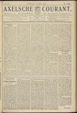 Axelsche Courant 1927-05-17