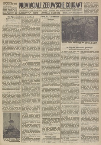 Provinciale Zeeuwse Courant 1942-07-06