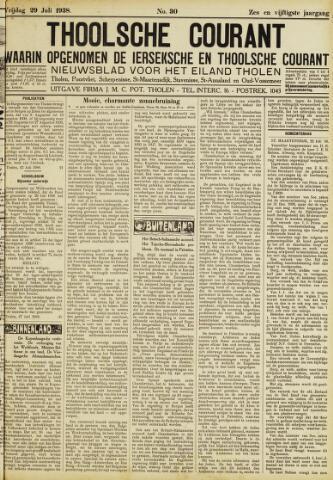 Ierseksche en Thoolsche Courant 1938-07-29