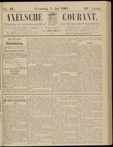 Axelsche Courant 1907-07-03