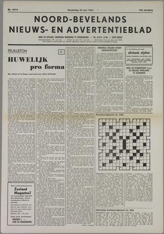 Noord-Bevelands Nieuws- en advertentieblad 1983-06-30
