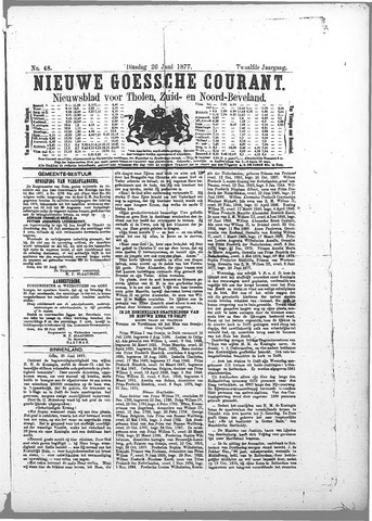 Nieuwe Goessche Courant 1877-06-26