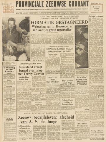Provinciale Zeeuwse Courant 1967-04-01