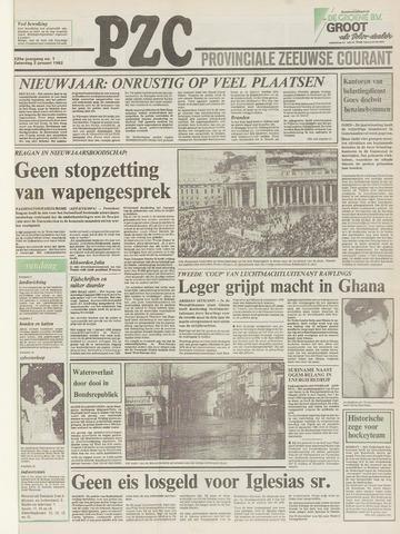 Provinciale Zeeuwse Courant 1982