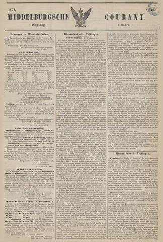 Middelburgsche Courant 1853-03-01