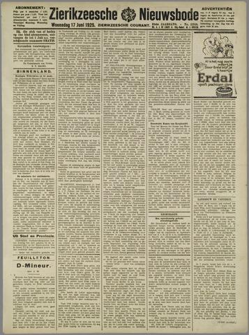 Zierikzeesche Nieuwsbode 1925-06-17