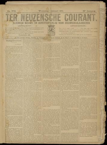 Ter Neuzensche Courant. Algemeen Nieuws- en Advertentieblad voor Zeeuwsch-Vlaanderen / Neuzensche Courant ... (idem) / (Algemeen) nieuws en advertentieblad voor Zeeuwsch-Vlaanderen 1919-01-01