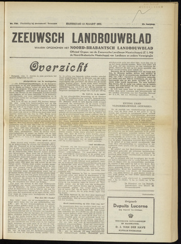 Zeeuwsch landbouwblad ... ZLM land- en tuinbouwblad 1955-03-12