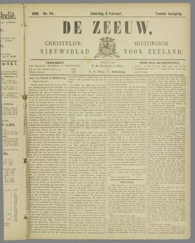 De Zeeuw. Christelijk-historisch nieuwsblad voor Zeeland 1888-02-04