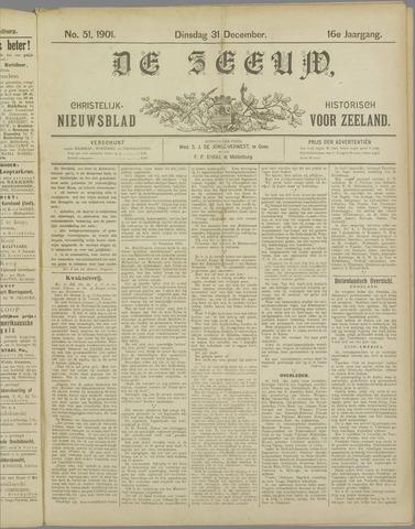 De Zeeuw. Christelijk-historisch nieuwsblad voor Zeeland 1901-12-31