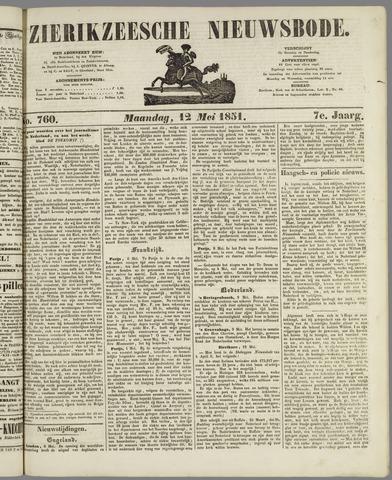 Zierikzeesche Nieuwsbode 1851-05-12