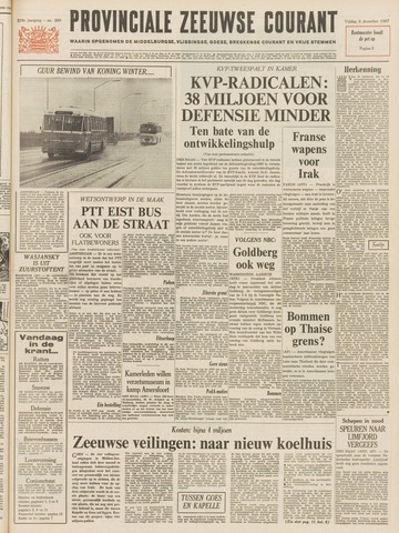 Provinciale Zeeuwse Courant 1967-12-08