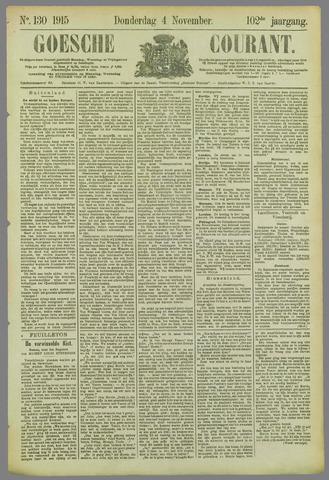 Goessche Courant 1915-11-04