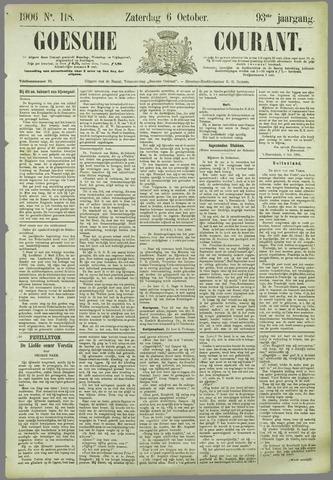 Goessche Courant 1906-10-06