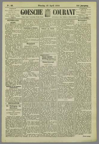 Goessche Courant 1924-04-15