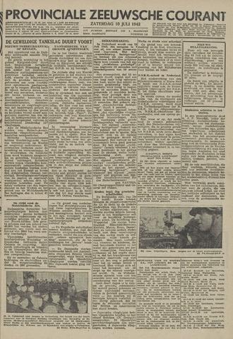 Provinciale Zeeuwse Courant 1943-07-10