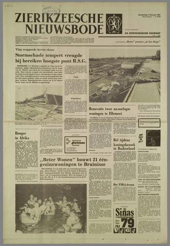 Zierikzeesche Nieuwsbode 1981-02-05