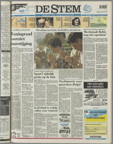 de Stem 1996-08-07