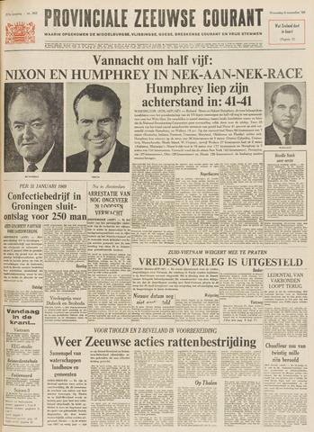 Provinciale Zeeuwse Courant 1968-11-06