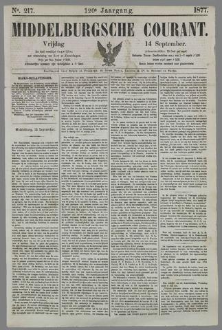 Middelburgsche Courant 1877-09-14