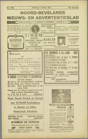Noord-Bevelands Nieuws- en advertentieblad 1937