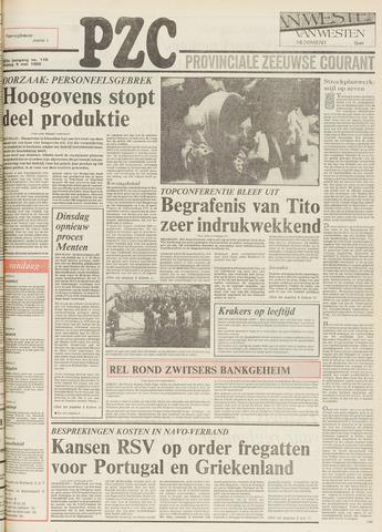 Provinciale Zeeuwse Courant 1980-05-09