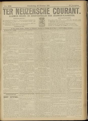 Ter Neuzensche Courant. Algemeen Nieuws- en Advertentieblad voor Zeeuwsch-Vlaanderen / Neuzensche Courant ... (idem) / (Algemeen) nieuws en advertentieblad voor Zeeuwsch-Vlaanderen 1915-10-28