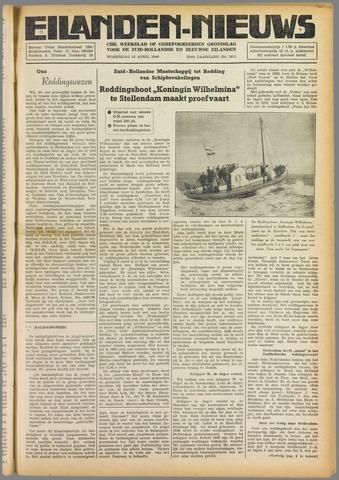 Eilanden-nieuws. Christelijk streekblad op gereformeerde grondslag 1949-04-13