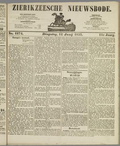 Zierikzeesche Nieuwsbode 1855-06-12