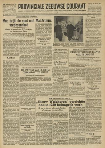 Provinciale Zeeuwse Courant 1951-03-30
