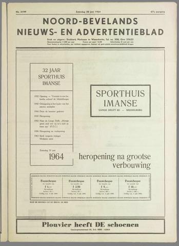 Noord-Bevelands Nieuws- en advertentieblad 1964-06-20