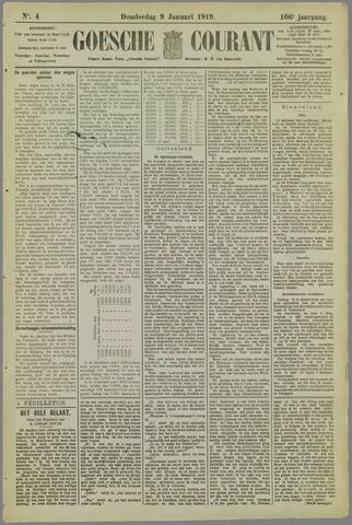 Goessche Courant 1919-01-09