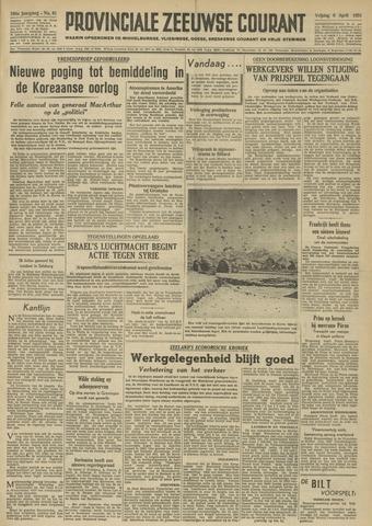Provinciale Zeeuwse Courant 1951-04-06