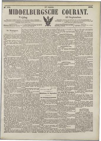 Middelburgsche Courant 1899-09-22