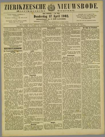 Zierikzeesche Nieuwsbode 1902-04-17