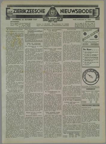 Zierikzeesche Nieuwsbode 1937-10-23