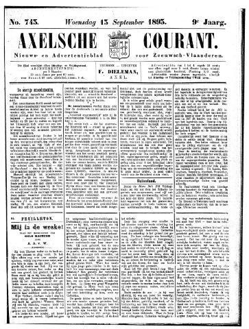 Axelsche Courant 1893-09-13