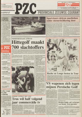 Provinciale Zeeuwse Courant 1987-07-27