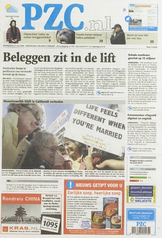 Provinciale Zeeuwse Courant 2009-05-27