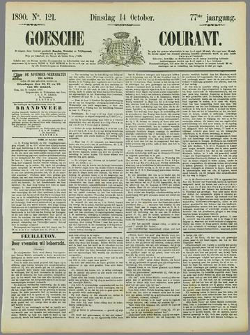 Goessche Courant 1890-10-14